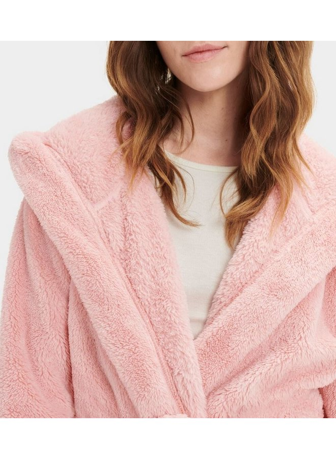 Aarti Plush Robe - Soft Kiss