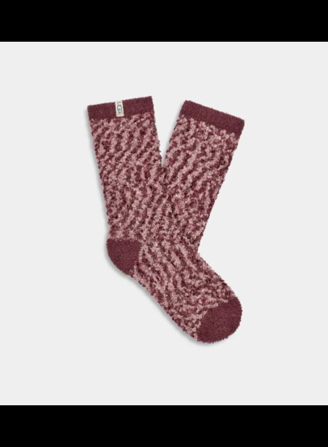 Cozy Chenille Sock -