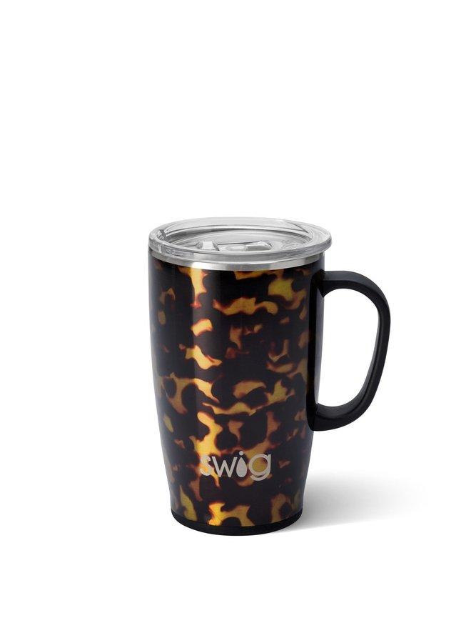18oz  Travel Mug with Handle - Bombshell