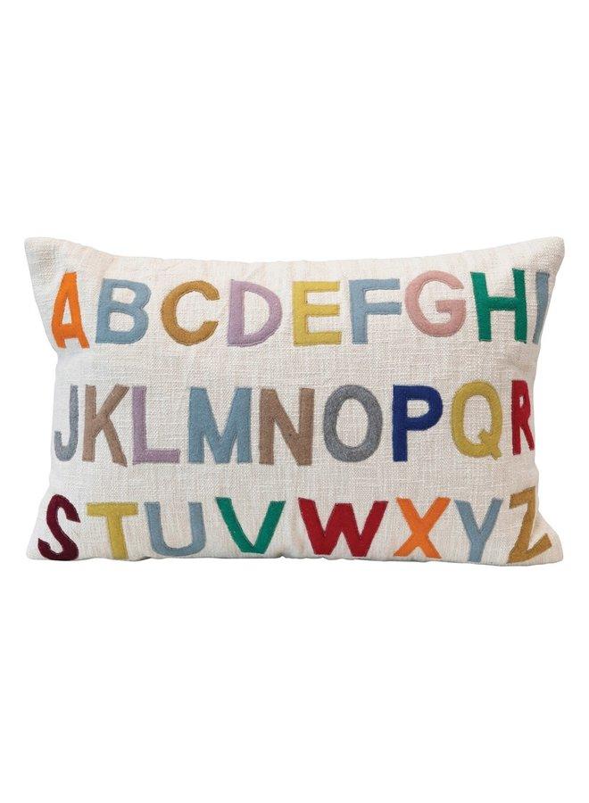 Alphabet Kids Pillow