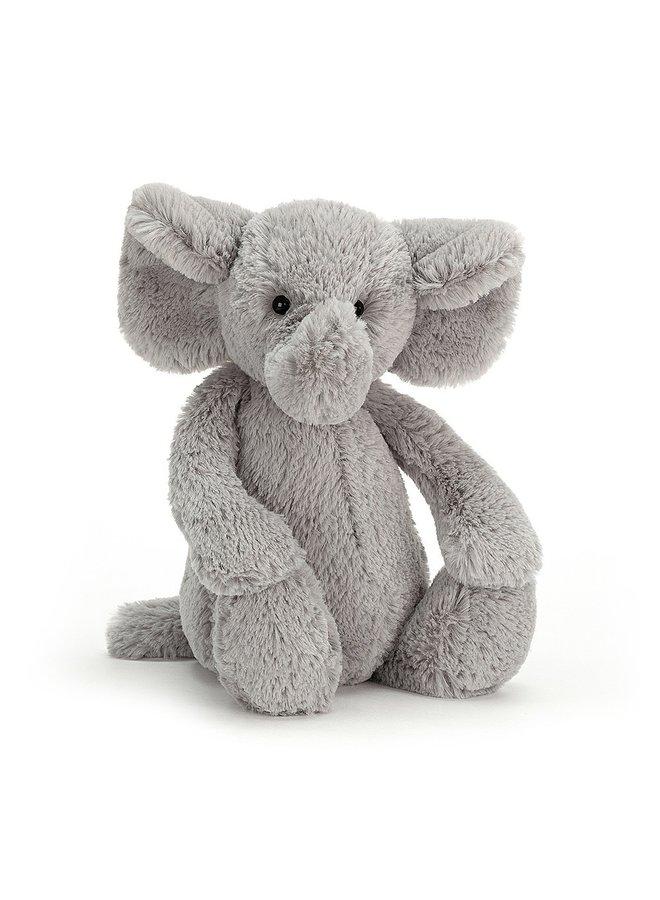 Bashful Silver Elephant Medium