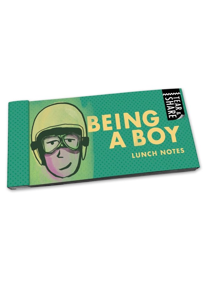 Being A Boy Lunch Notes