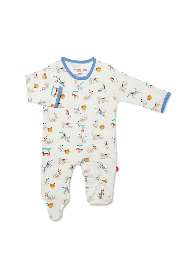 Howlarious Cotton Magnetic Footie