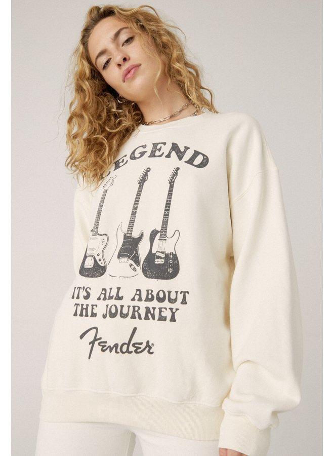 Fender Legend Oversized Crew Sweatshirt