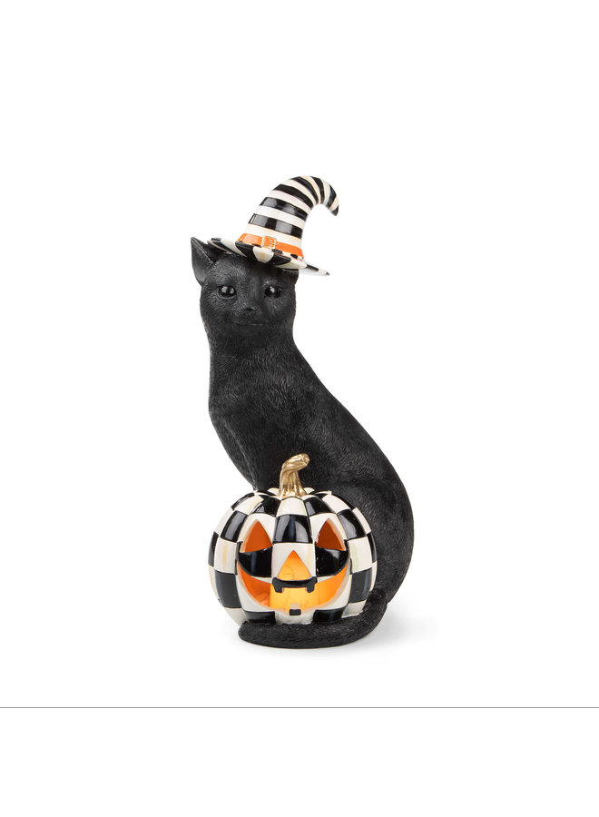 Illuminated Happy Jack Cat