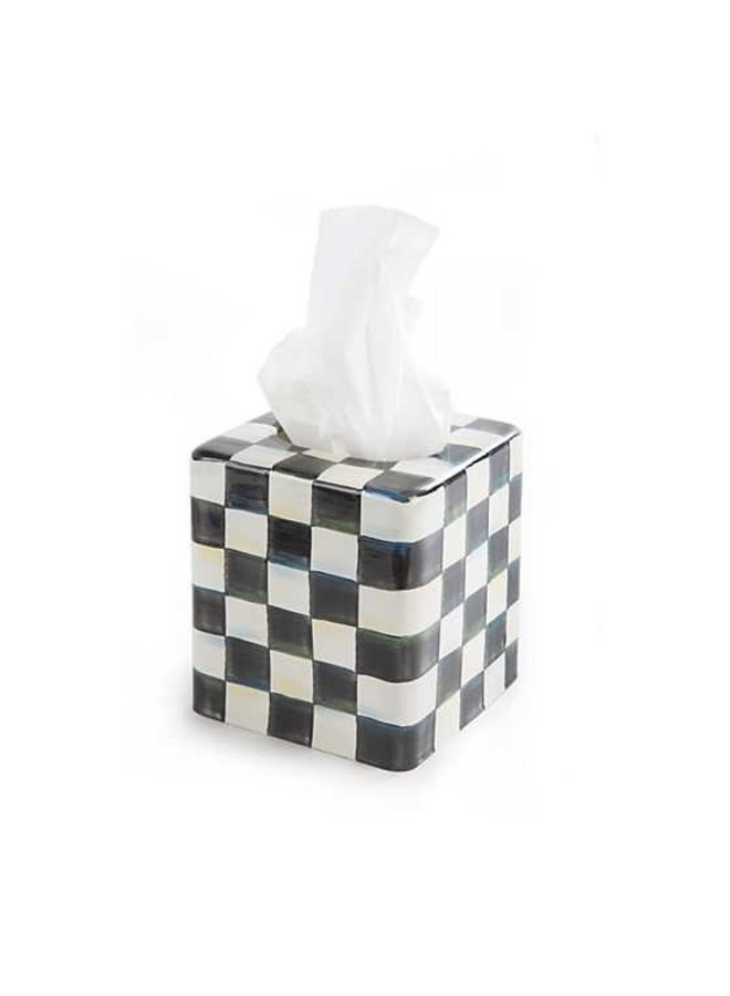 Courtly Check Boutique Tissue Box Holder