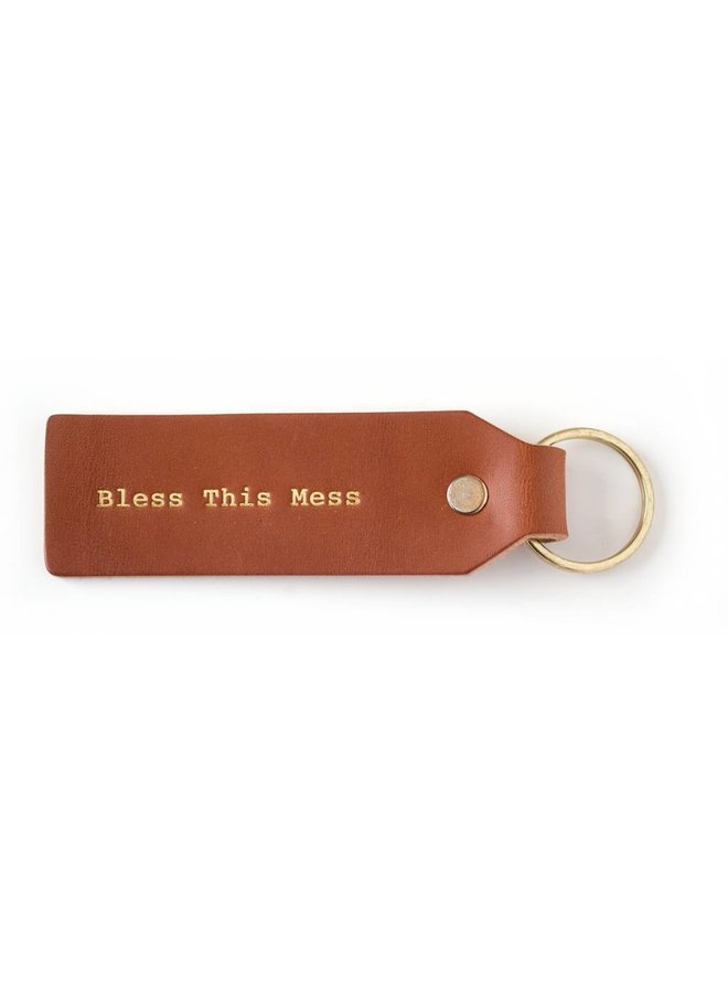 Bless This Mess Keytag