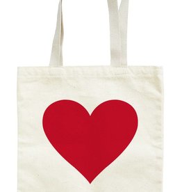 Seltzer Heart Red Tote