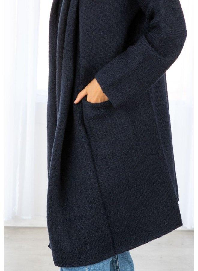 Oversized Pocket Coatigan