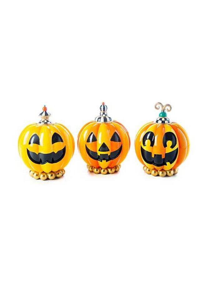 Happy Pumpkin - Set of 3