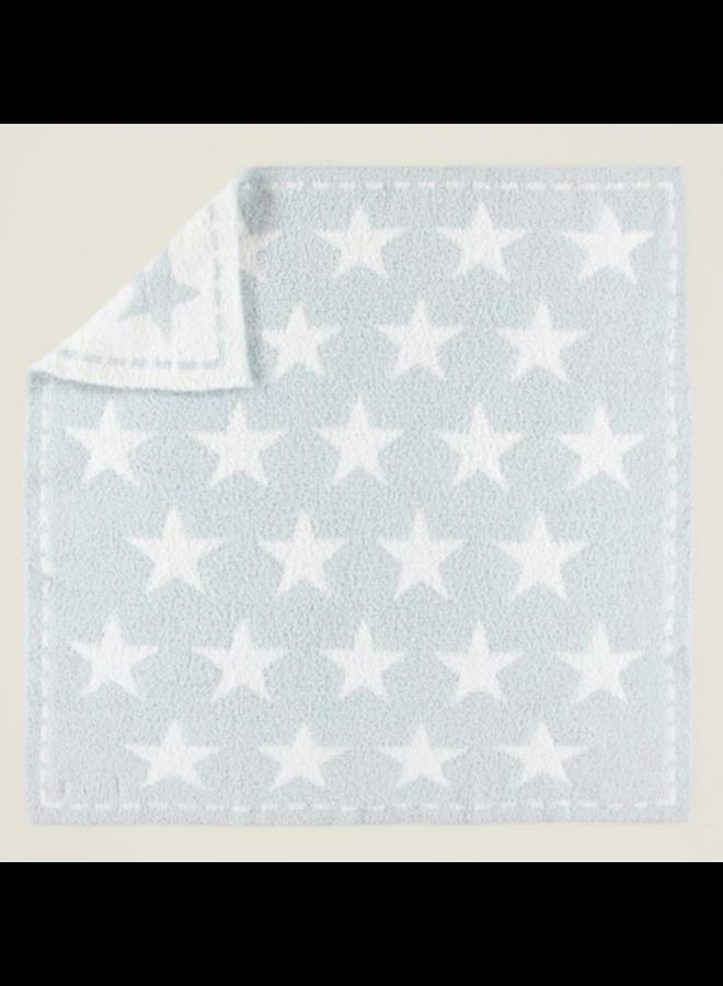 CozyChic Dream Receiving Blanket- Aqua Ice