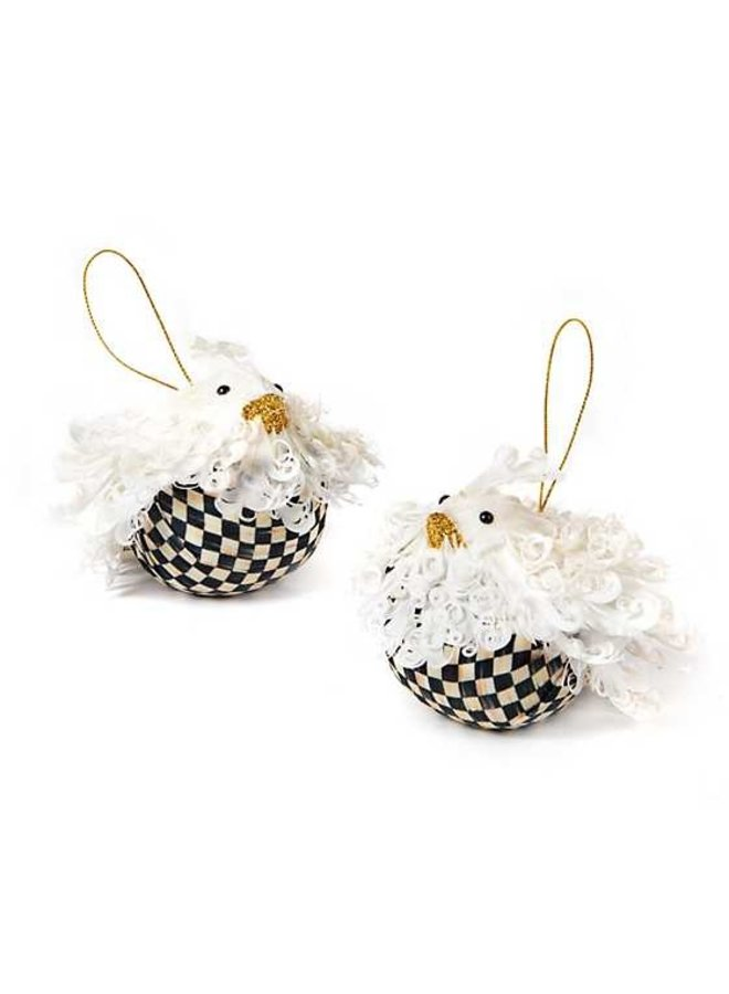 Birds of  Feather Ornament