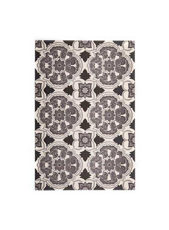 Lisbon Floor Mat - Black - 2'x3'