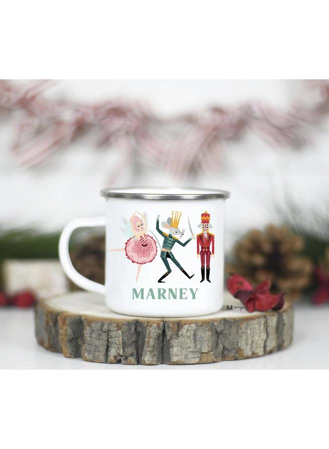 Personalized Kid's Christmas Camp Mug -