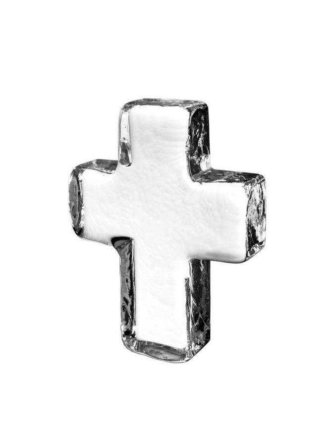 Glass Cross In Gift Box