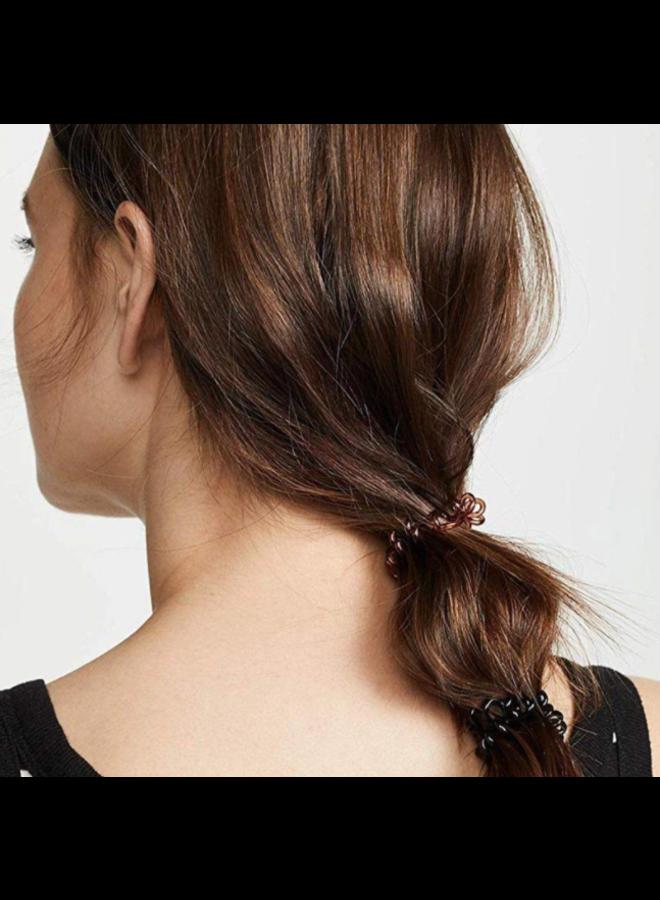 Brunette Hair Coils - Pack of 4