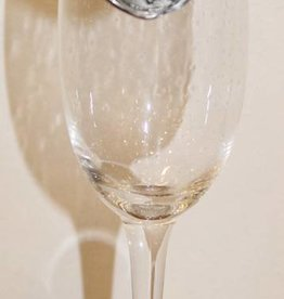 Southern Jubilee Champagne Flute- Initial V