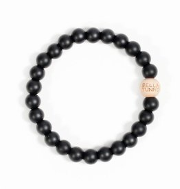 Bella Tunno Smoky Black Teething Bracelet