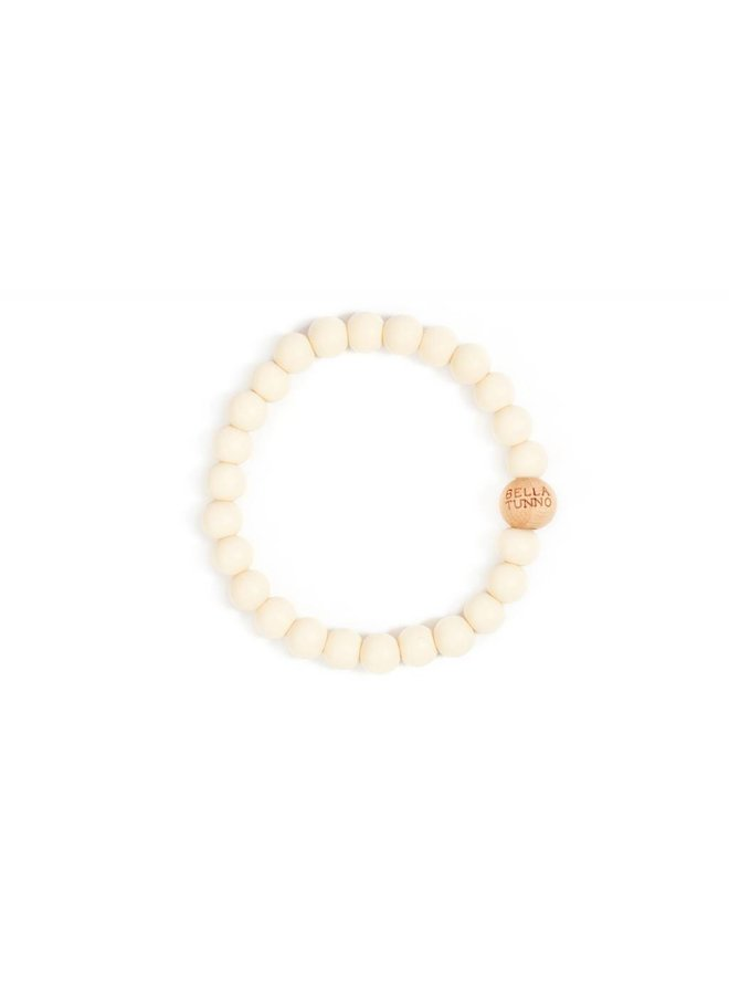 Navajo White Teething Bracelet
