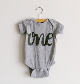 Oyster's Pearl ONE Birthday Onesie