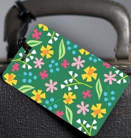 R. Nichols Sloane Floral Luggage Tag