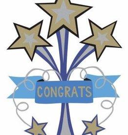 R. Nichols Congrats Star Greeting Card