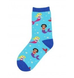 Socksmith Socksmith- Kid's Socks Mermaid You Look - Medium (4-7 years, 10-1y shoe size)