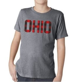 The Direction Ohio Plaid Kids Tee