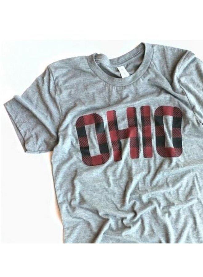 Red & Black Plaid Ohio Shirt