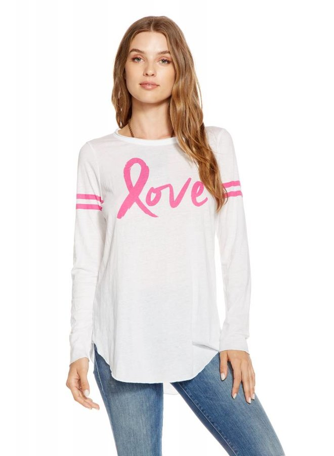 Pink Love Charity Long Sleeve Tee