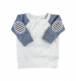 Lulu and Roo Infant State Blue Patch Sweatshirt