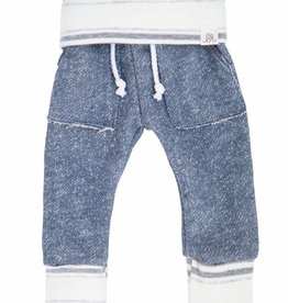 Lulu and Roo State Blue Stone Stripe Sweats