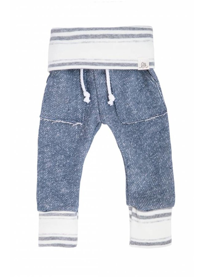 State Blue Stone Stripe Sweats