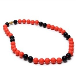 Chewbeads Spirit Necklace - Red & Black