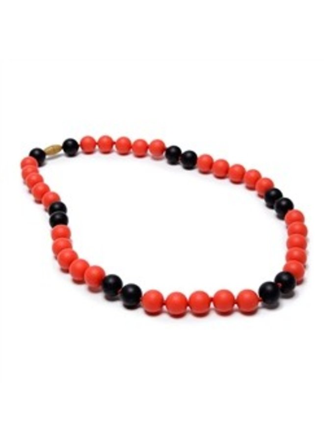 Spirit Necklace - Red & Black