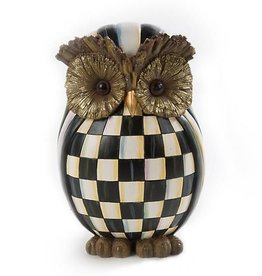 MacKenzie-Childs Courtly Check Owl