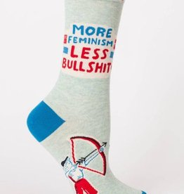 Blue Q Women's Socks- More Feminism
