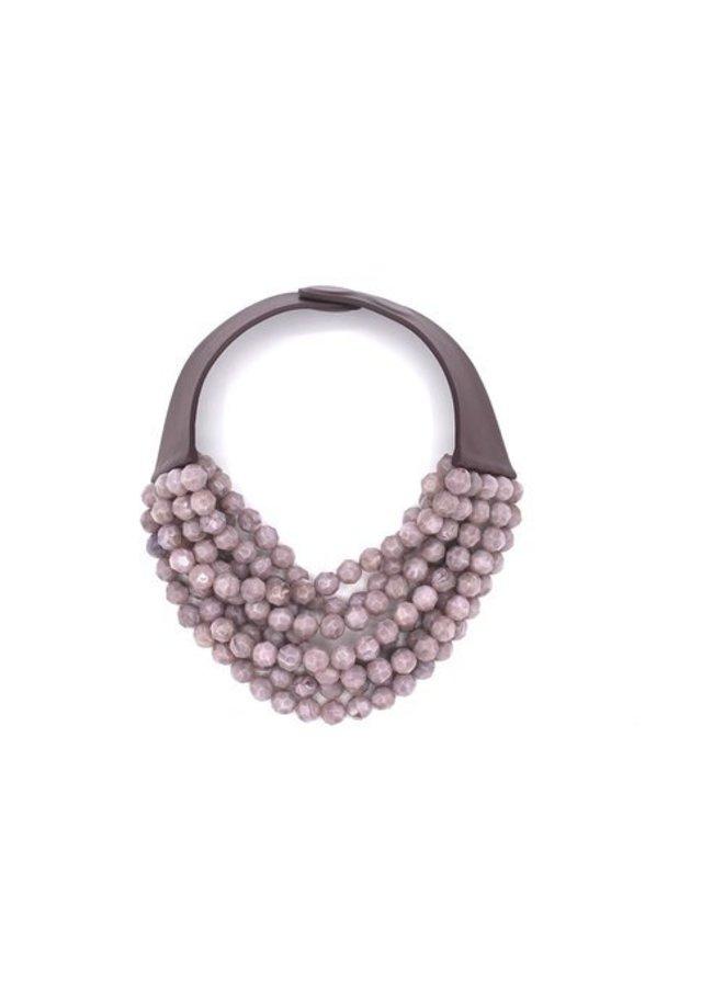 Bella Necklace - Stone Lilac