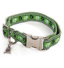 MacKenzie-Childs Bow Wow Pet Collar-Medium