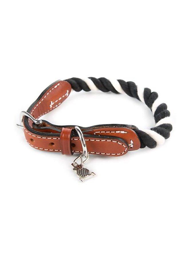 Courtly Twist Pet Collar-Medium