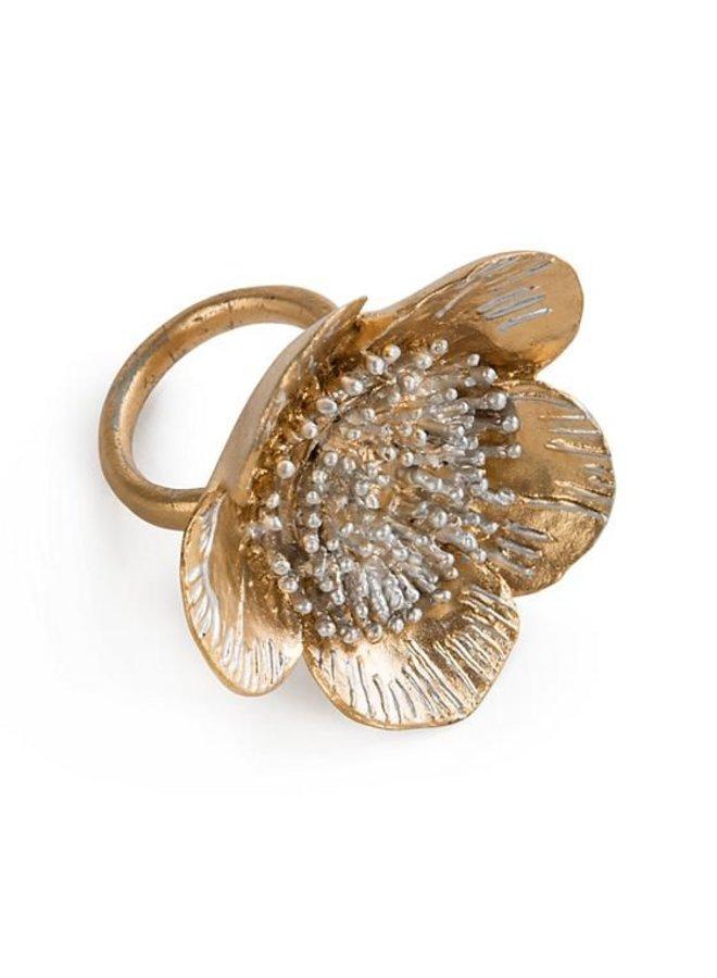 Wild Rose Napkin Ring