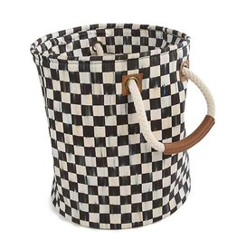 MacKenzie-Childs Courtly Check Storage Tote-Small