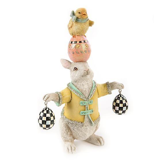 MacKenzie-Childs Balancing Act Bunny