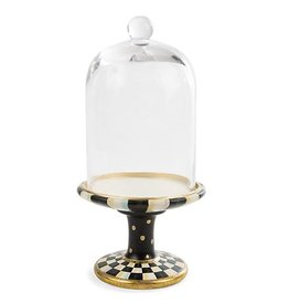 MacKenzie-Childs Courtly Check Pedestal With Cloche