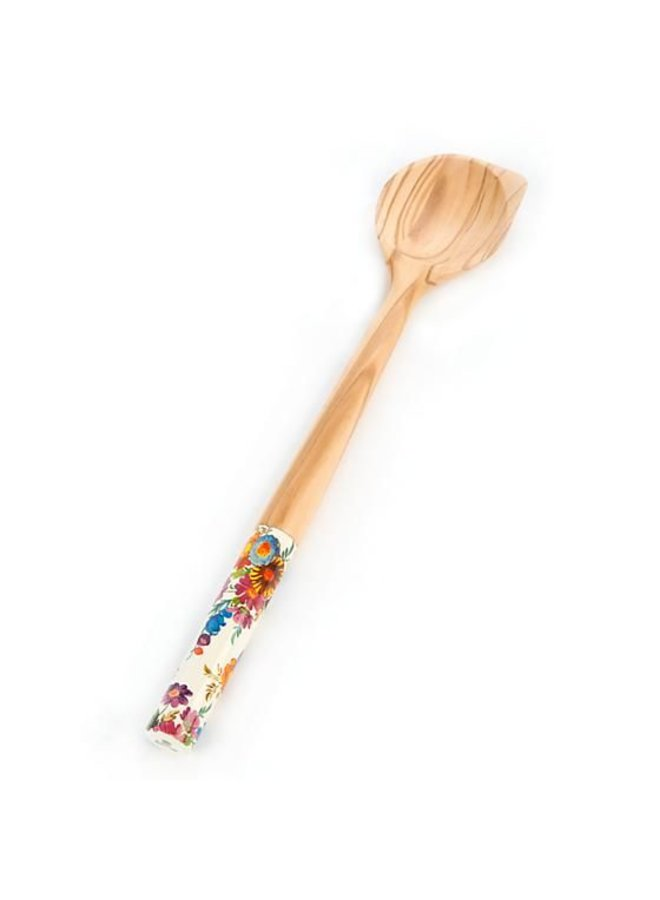 Flower Market Olivewood Scraping Spoon