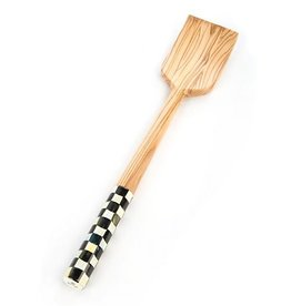 MacKenzie-Childs Courtly Check Olivewood Pan Paddle