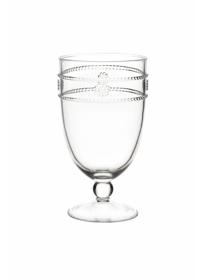 Isabella Acrylic Goblet Glass