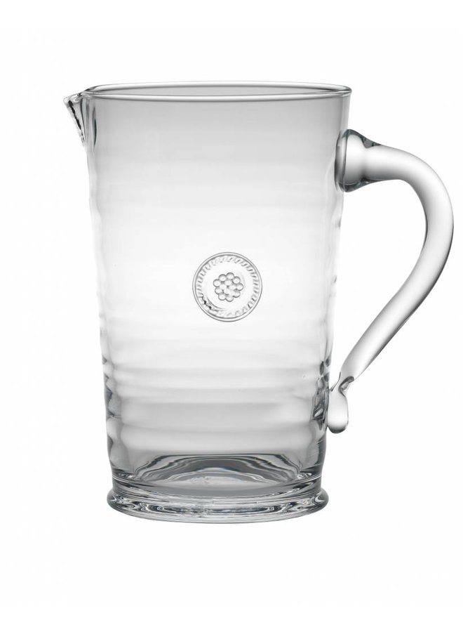 Berry & Thread Glass Pitcher