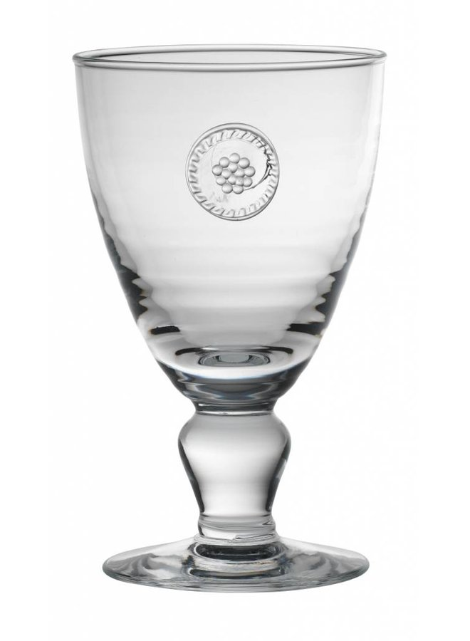 Berry & Thread Footed Goblet Glass