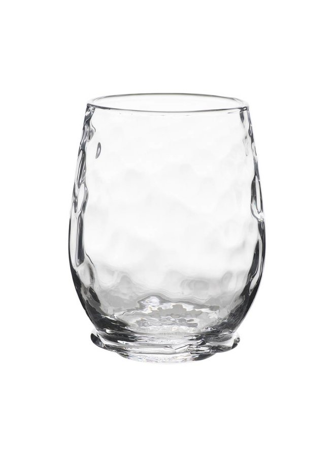 Carine White Wine Stemless Glass